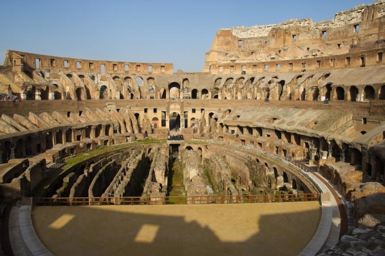 Colosseum, Rome, Piazza del Colosseo, Rome, Province of Rome, Italy