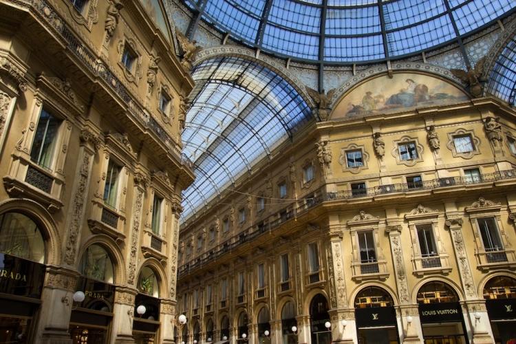 Galleria Vittorio Emanuele II, Milan, Province of Milan, Italy