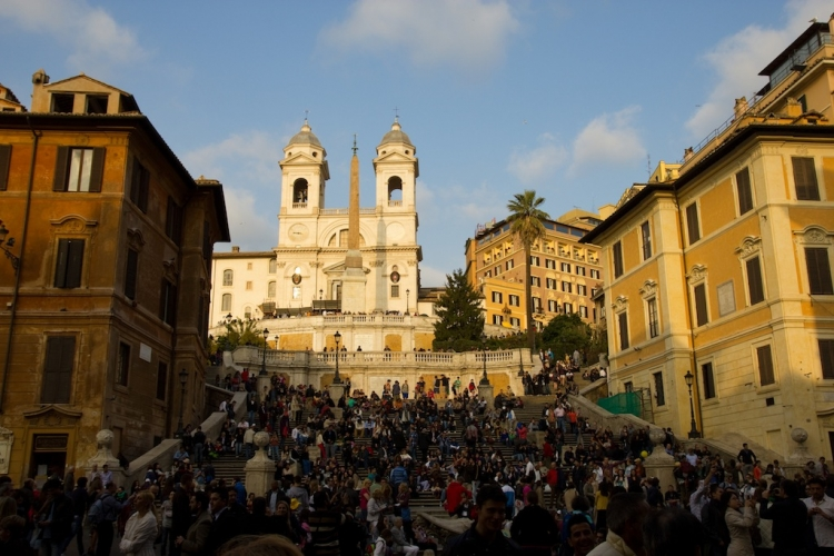 Piazza di Spagna, Rome, Province of Rome, Italy